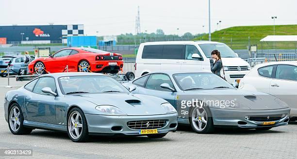 Ferrari pista día