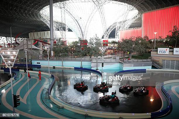 Ferrari World Yas Island Abu Dhabi Karting academy United Arab Emirates