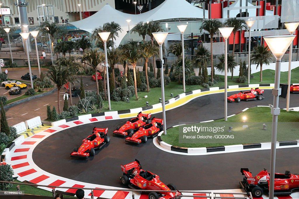 Ferrari World Yas Island Abu Dhabi Stock Photo | Getty Images