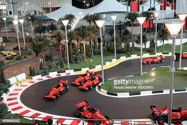 Ferrari World, Yas Island, Abu Dhabi