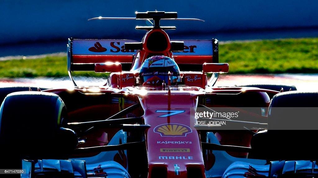 AUTO-PRIX-F1-ESP-TEST : News Photo