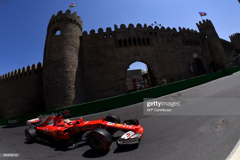 AUTO-PRIX-F1-AZE-PRACTICE : News Photo