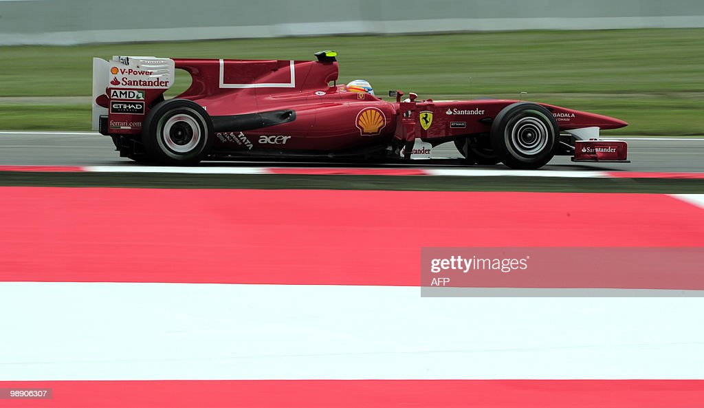 Ferrari's Spanish driver Fernando Alonso : News Photo