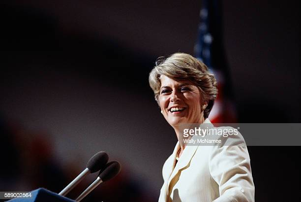 Ferraro was the first female vicepresidential nominee of a major US party when Walter Mondale won the Democratic presidential nomination