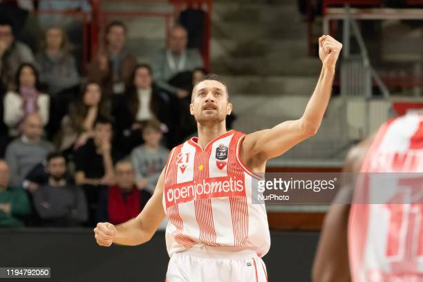 Ferrero Giancarlo of Openjobmetis in action during the Italy Lega Basket of Serie A , Openjobmetis Varese - Pallacanestro Trieste 19 Genuary 2020 in...