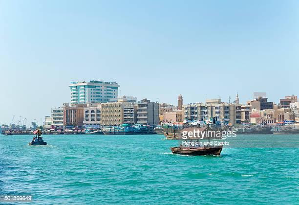 Ferries on Dubai Creek, United Arab Emirates