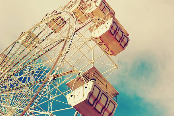 Ferris Wheel Against the Summer Sky