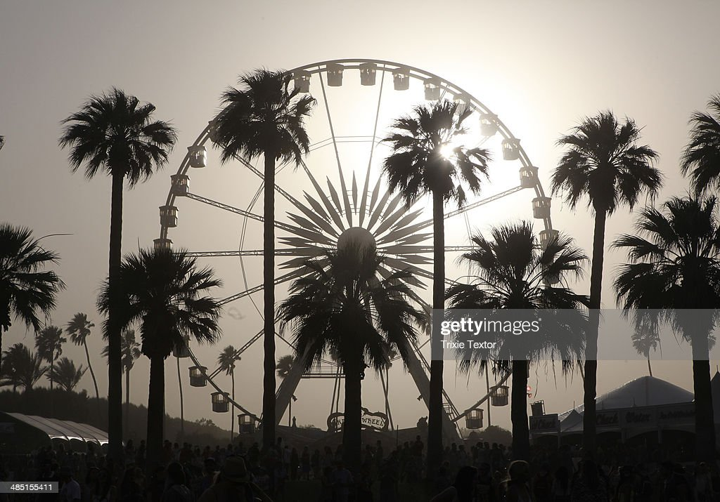 Ferris Wheel And Palm Trees Are Seen During Day 2 Of The 2014 News Photo Getty Images