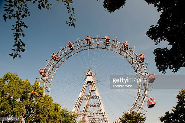 Ferris wheel at Prater amusement park.