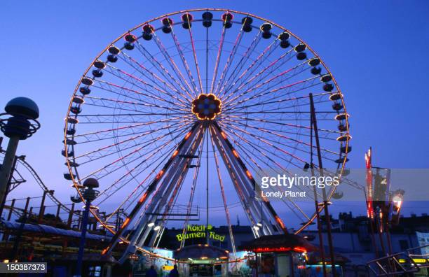 Ferris wheel at Prater, Leopold Stadt.