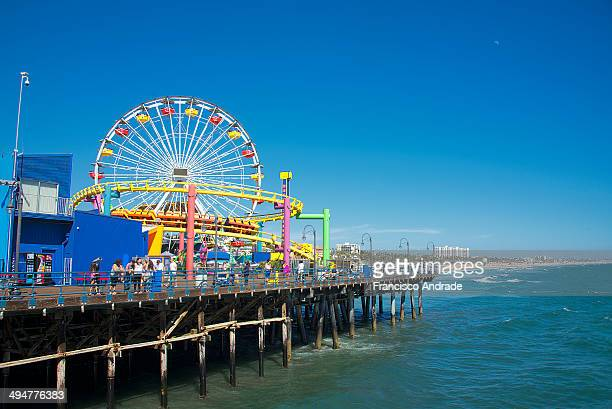 CONTENT] Ferris Wheel at the Santa Monica Pier Los Angeles California USA