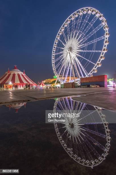 Ferris wheel in Asiatique The Riverfront
