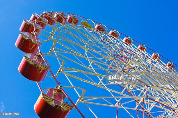 Ferris Wheel en el parque de los niños