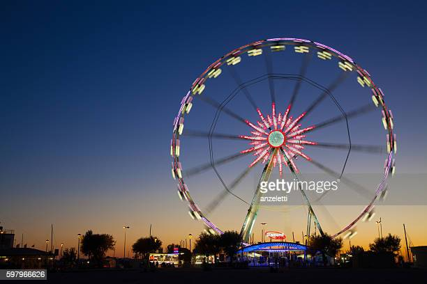 Ferris wheel in Rimini