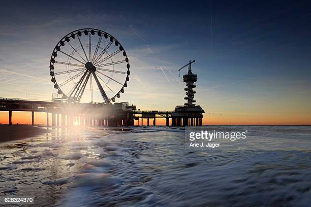 ferris wheel on the Pier at Scheveningen