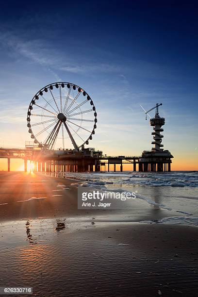 ferris wheel on the Pier at Scheveningen
