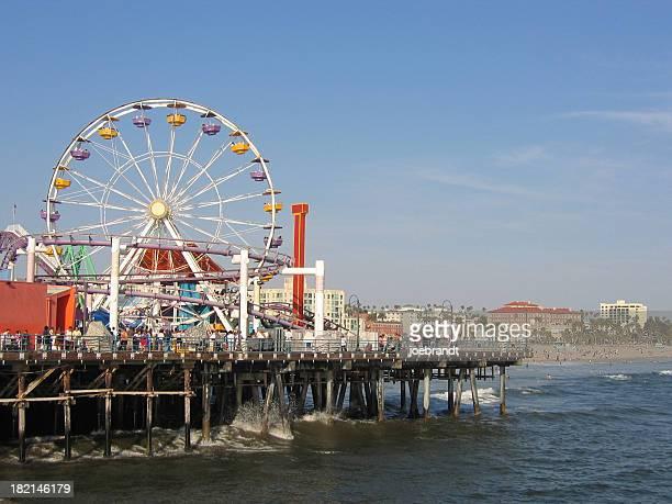 Ferris Wheel en el muelle