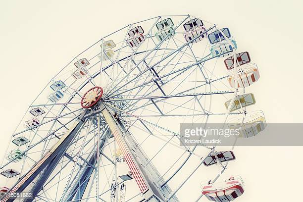ferris wheel - ocean city maryland stock pictures, royalty-free photos & images