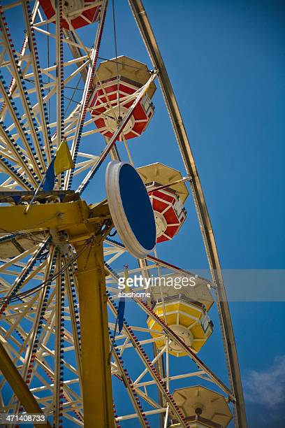 ferris wheel - calgary stampede stock pictures, royalty-free photos & images