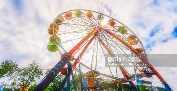 ferris wheel ride at state fair carnival #2 - festival of remembrance 2019 stock photos and pictures
