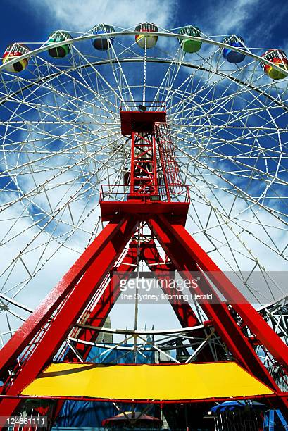 Ferris Wheel ride featured in the reopening of Luna Park