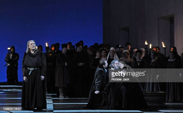 Ferruccio Ferlanetto as Jacopo Fiesco Francesco Meli as Gabriele Adorno Carlos Alvarez as Simon Boccanegra and Hrachuhi Bassenz as Amelia Grimaldi in...
