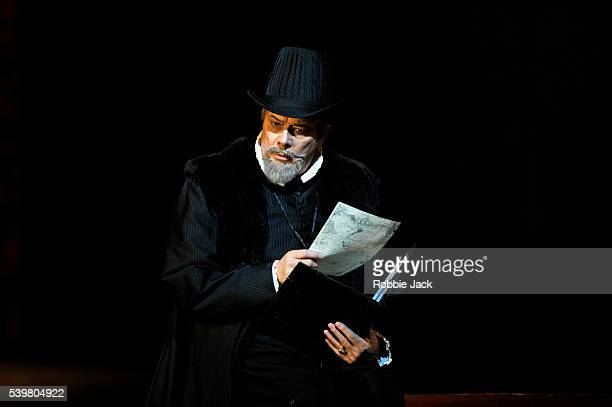 Ferruccio Furlanetto as Philip II in the Royal Opera's production of Giuseppe Verdi's Don Carlo directed by Nicholas Hytner and conducted by Antonio...