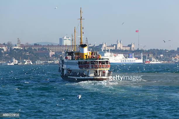 ferry sur le Bosphore