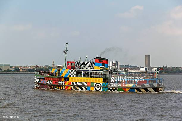 ferry across the mersey - ferry stock photos and pictures