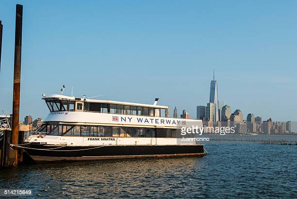 ferry boat called frank sinatra - hoboken stock pictures, royalty-free photos & images