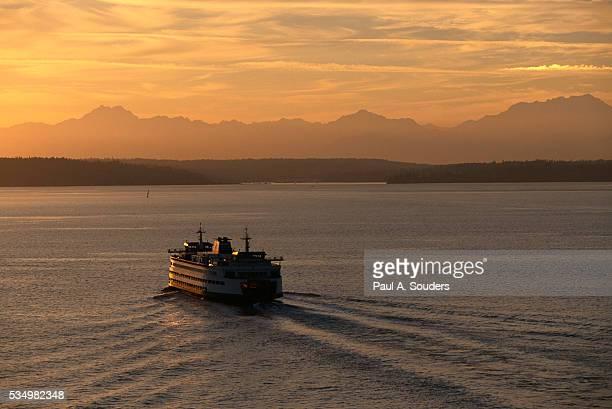 Ferry Boat in Elliot Bay