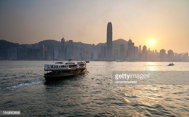 Ferry Boat To Hong Kong