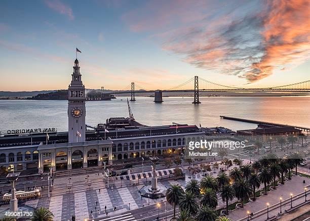 Ferry Building Sunrise - San Francisco