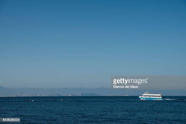 A ferry covering the route Tabarca Santa Pola Tabarca is a small islet located in the Mediterranean Sea close to the town of Santa Pola Alicante...