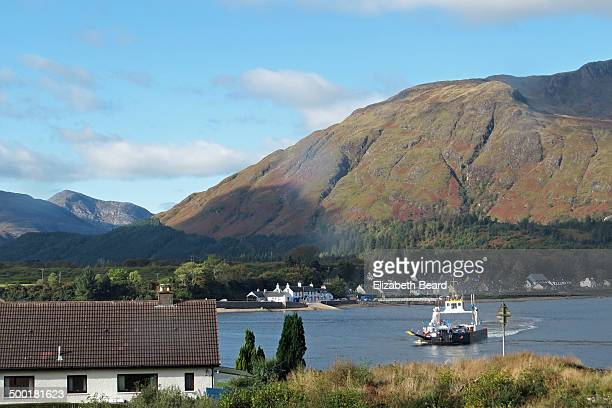 CONTENT] A ferry crosses Loch Linnhe between Corran and Ardgour
