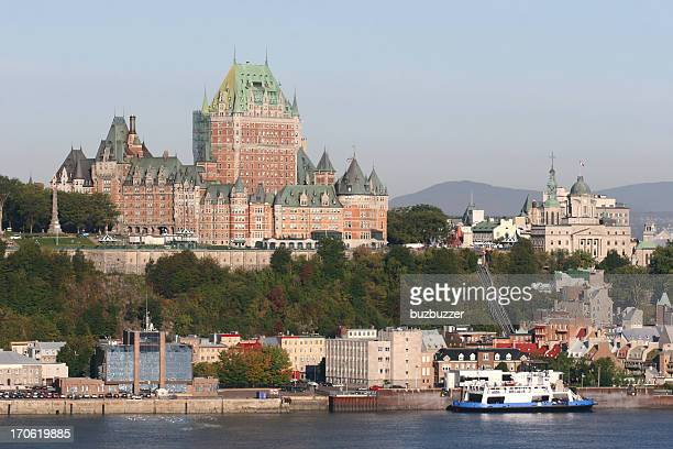 Ferry in the old Quebec City