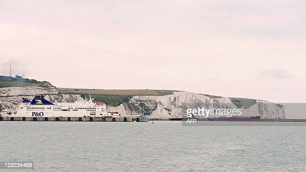 A PO ferry leaves the port of Dover Kent south east England on August 31 2011 Dover is a major ferry port in the county of Kent in south east England...