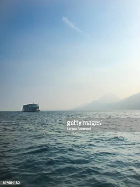 Ferry on Lake Garda, Italy