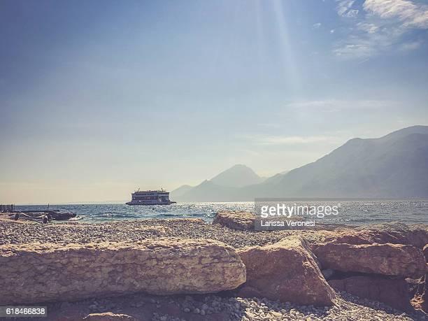 Ferry on Lake Garda