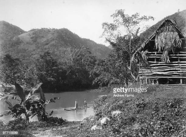 Ferry on Rio Cobre Jamaica