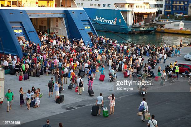 Ferry port, Greece