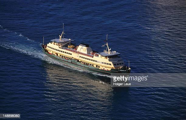 Ferry Queenscliff on Sydney Harbour.