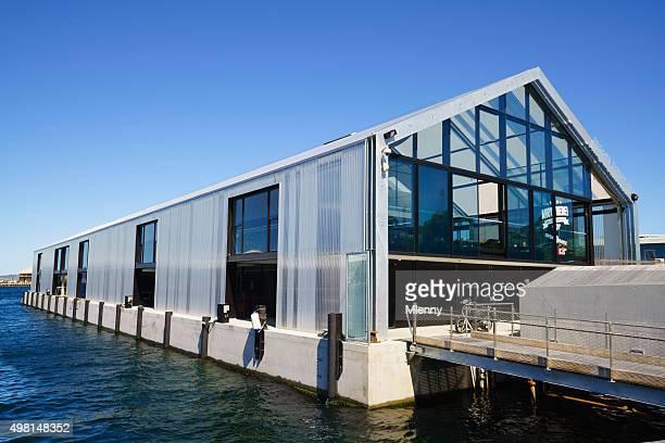 MONA ROMA Ferry Terminal Brooke Street Pier Hobart Tasmania