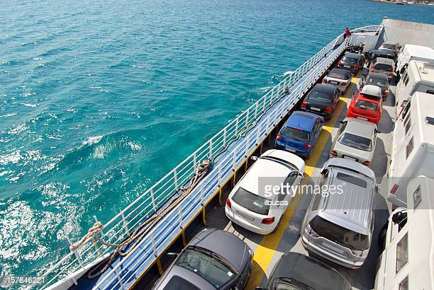 Ferry to Elafonisos island, Greece