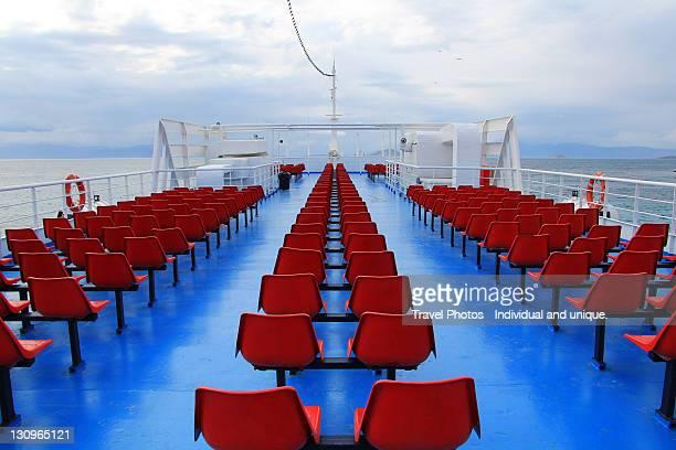 Ferry trip to Aegina, Greece