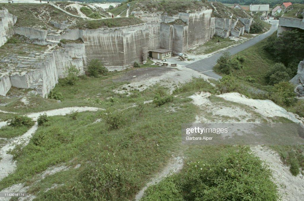 Fertorakos Limestone Quarry, Hungary, June 1990  News Photo