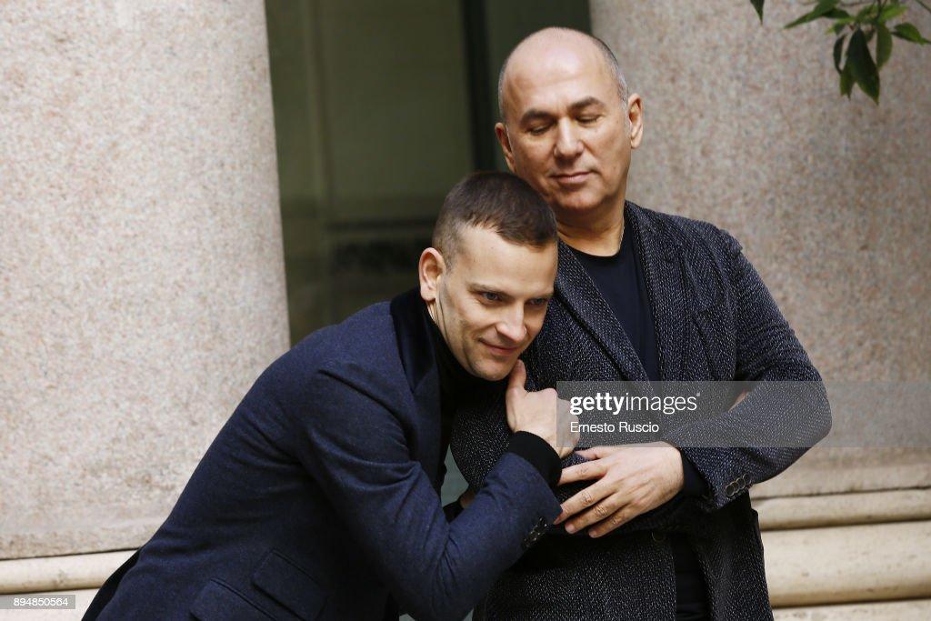 Ferzan Ozpetek And Alessandro Borghi Attend Napoli Velata Photocall News Photo Getty Images