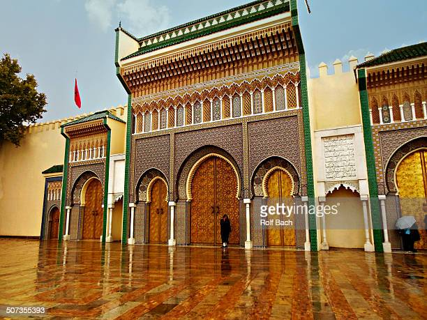 Fes, entrance to the Royal Palace.