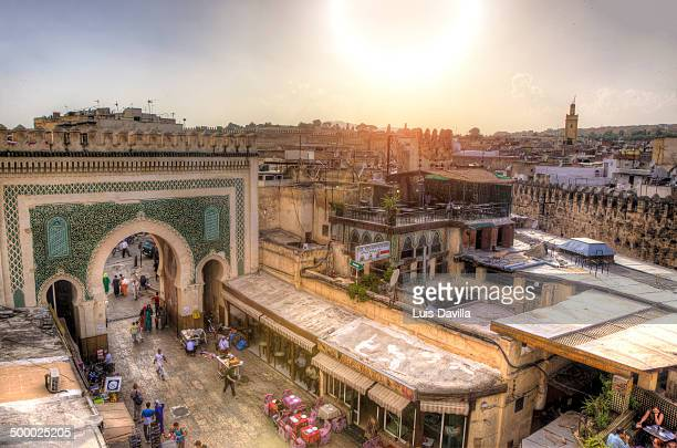 Fes from Bab Boujloud