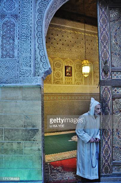 CONTENT] Fes Morocco Man looked strangetemple like mysterious place browsing the street in Fesstart to nightfall 2012